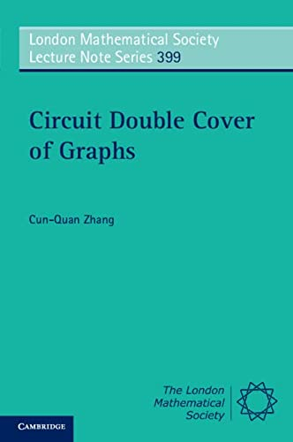 9780521282352: Circuit Double Cover of Graphs (London Mathematical Society Lecture Note Series)