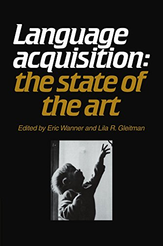 9780521282383: Language Acquisition: The State of the Art