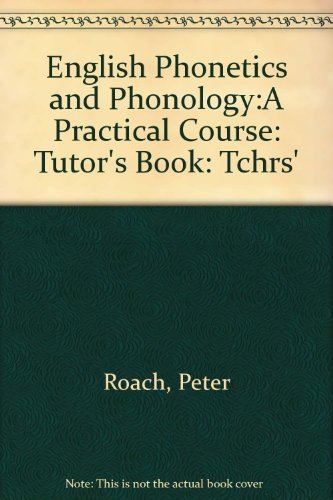9780521282536: English Phonetics and Phonology:A Practical Course