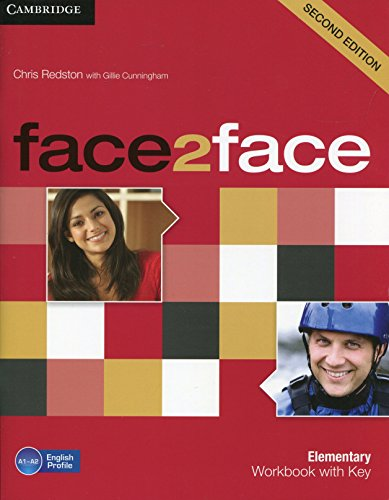 9780521283052: face2face Elementary Workbook with Key