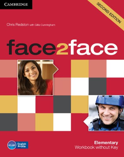 9780521283069: face2face 2nd Elementary Workbook without Key