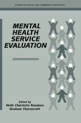 9780521283113: Mental Health Service Evaluation Paperback (Studies in Social and Community Psychiatry)