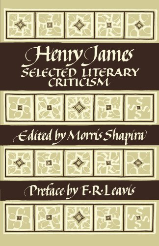 9780521283656: Henry James: Selected Literary Criticism