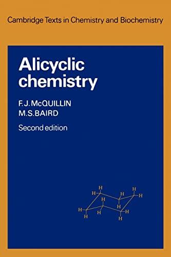 9780521283915: Alicyclic Chemistry (Cambridge Texts in Chemistry and Biochemistry)