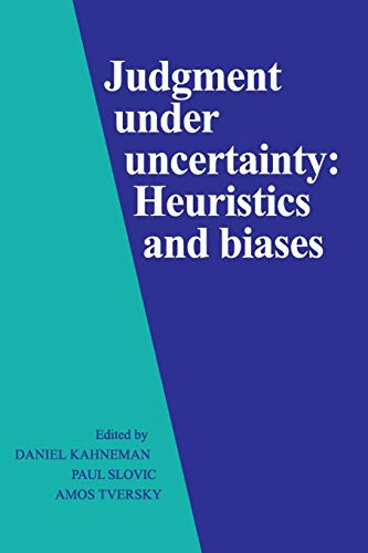 9780521284141: Judgment under Uncertainty Paperback: Heuristics and Biases