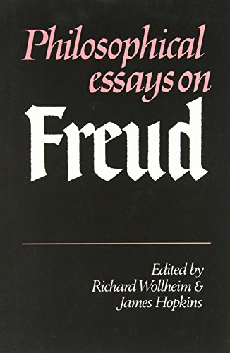 Philosophical Essays on Freud.