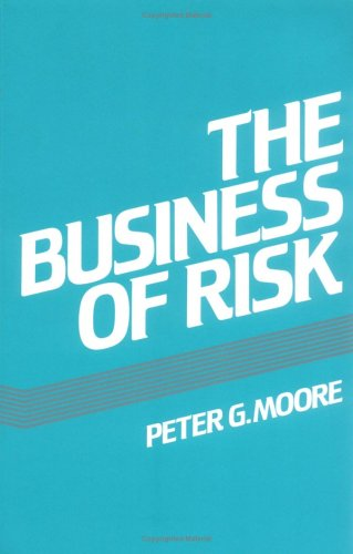 9780521284974: The Business of Risk