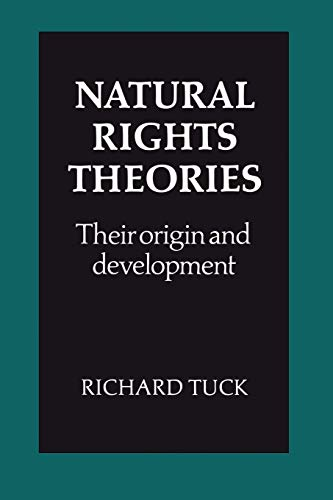 9780521285094: Natural Rights Theories Paperback: Their Origin and Development