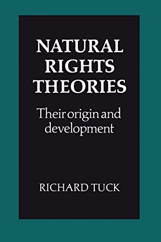 9780521285094: Natural Rights Theories: Their Origin and Development