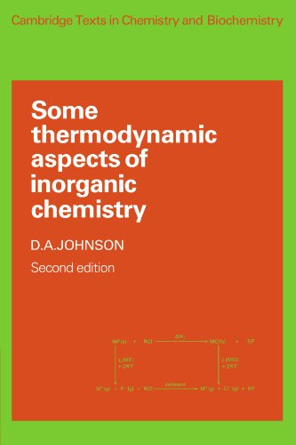 9780521285216  Some Thermodynamic Aspects Of Inorganic