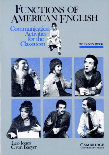 9780521285285: Functions of American English Student's book: Communication Activities for the Classroom