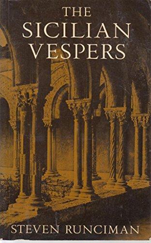 9780521286527: Sicilian Vespers