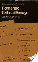 9780521286725: Romantic Critical Essays (Cambridge English Prose Texts)
