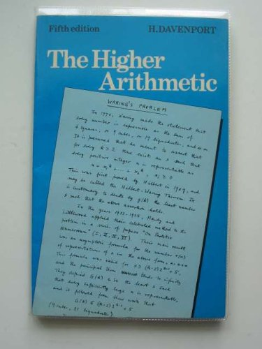 9780521286787: The Higher Arithmetic