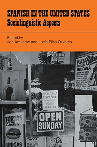 9780521286893: Spanish in the United States: Sociolinguistic Aspects