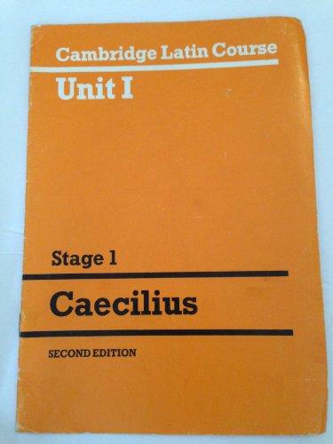 9780521287289: Cambridge Latin Course Unit 1: Stage 1