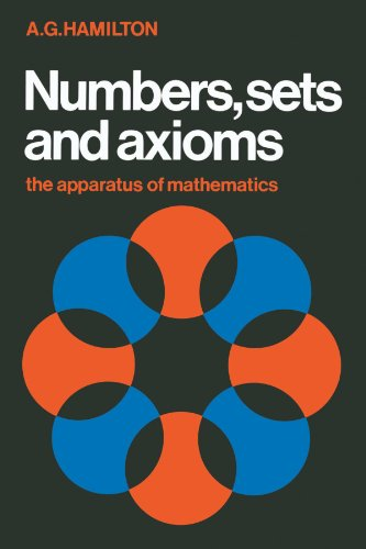 9780521287616: Numbers, Sets and Axioms Paperback: The Apparatus of Mathematics
