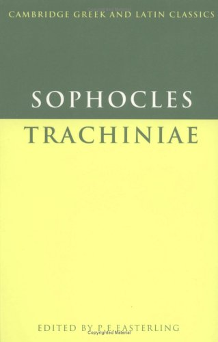 9780521287760: Sophocles: Trachiniae (Cambridge Greek and Latin Classics) (Greek Edition)