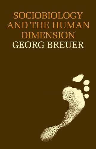 9780521287784: Sociobiology and the Human Dimension