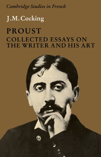 9780521287999: Proust: Collected Essays on the Writer and his Art