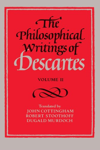 the philosophy of descartes Descartes' doubt cogito, ergo sum proofs for god's existence mind and matter a short history of philosophy - archibald b d alexander this utterance of descartes must be acknowledged as one of the great moments in the history of philosophy its very simplicity tends to conceal its significance.