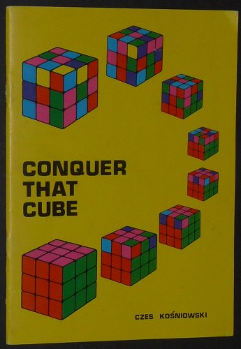 9780521288149: Conquer That Cube
