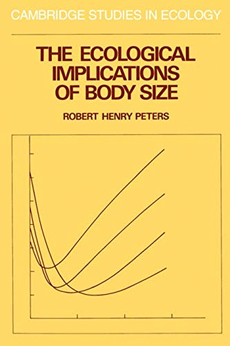 9780521288866: The Ecological Implications of Body Size