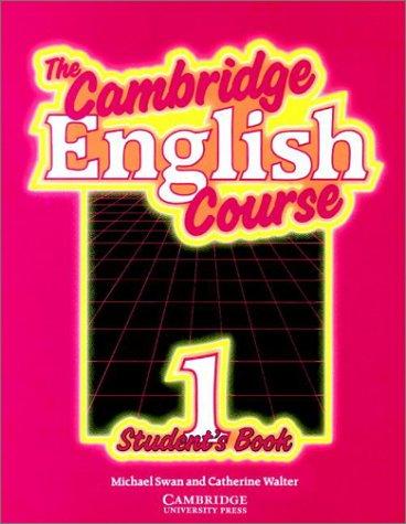 9780521289085: The Cambridge English Course 1 Student's book