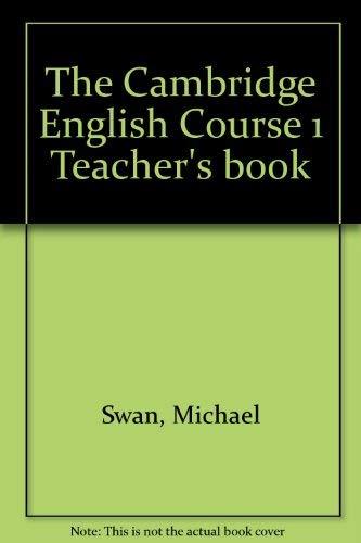 9780521289108: The Cambridge English Course 1 Teacher's book