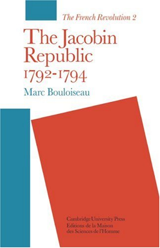 9780521289184: The Jacobin Republic 1792-1794: 002 (The French Revolution)
