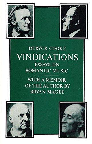 9780521289474: Vindications: Essays on Romantic Music