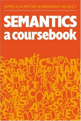 9780521289498: Semantics: A Coursebook