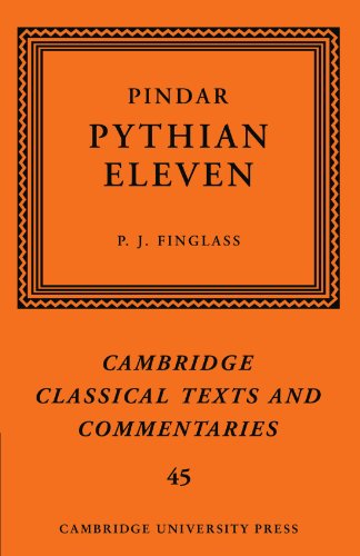 9780521289900: Pindar: 'Pythian Eleven' (Cambridge Classical Texts and Commentaries)