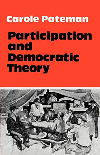 9780521290043: Participation and Democratic Theory
