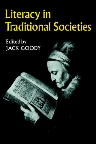 9780521290050: Literacy in Traditional Societies