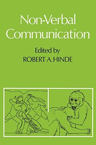 9780521290128: Non-verbal Communication