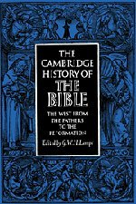 The Cambridge History of the Bible. Vol. 2. The West from the Fathers to the Reformation