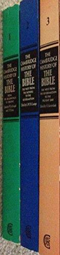 9780521290180: The Cambridge History of the Bible (3 Volume Set)