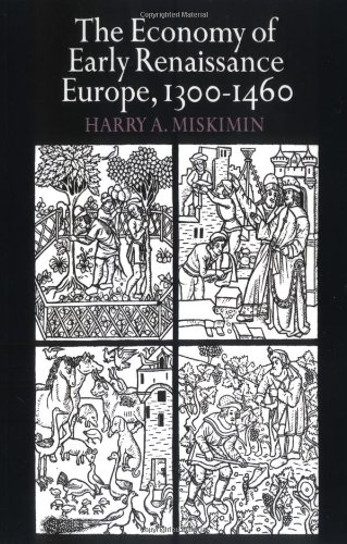 9780521290210: The Economy of Early Renaissance Europe, 1300-1460