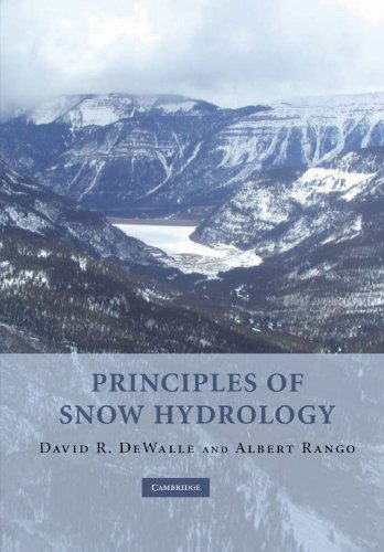 9780521290326: Principles of Snow Hydrology Paperback