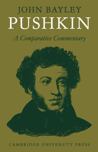9780521290333: Pushkin: A Comparative Commentary (Major European Authors Series)