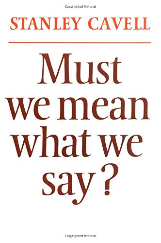 9780521290487: Must We Mean What We Say?: A Book of Essays