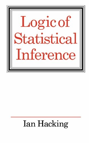 9780521290593: Logic of Statistical Inference