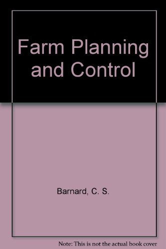 9780521290791: Farm Planning and Control