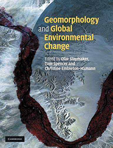 9780521291002: Geomorphology and Global Environmental Change Paperback