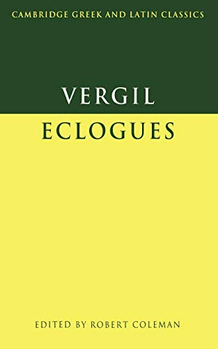9780521291071: Virgil: Eclogues Paperback (Cambridge Greek and Latin Classics)