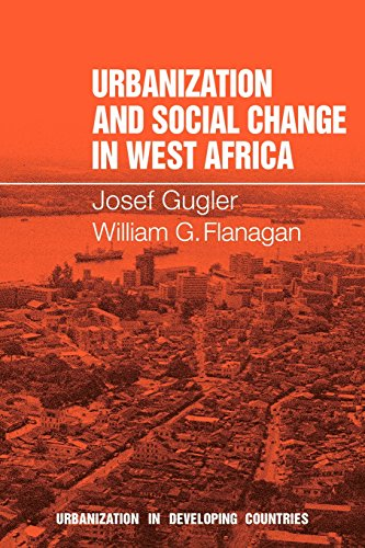 9780521291187: Urbanization and Social Change in West Africa (Urbanisation in Developing Countries)