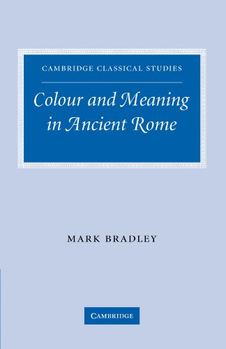 9780521291224: Colour and Meaning in Ancient Rome