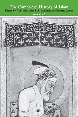 9780521291378: The Cambridge History of Islam: Volume 2
