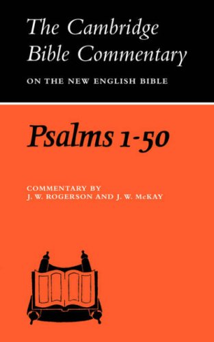 9780521291606: Psalms 1-50 (Cambridge Bible Commentaries on the Old Testament)